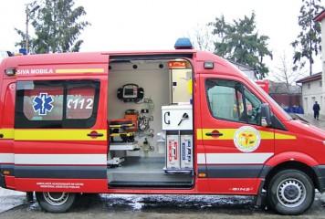 Accident pe DN7. Cinci oameni, în grija medicilor