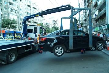 Când încep să fie ridicate mașinile parcate neregulamentar în Capitală. La cât ajung taxele!