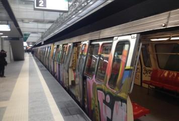 Incident la metrou, la statia 1 Mai