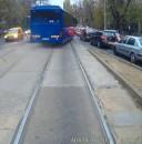 Imagini de necrezut cu un autocar cu numere MAI. Jandarmeria a reactionat deja (VIDEO)
