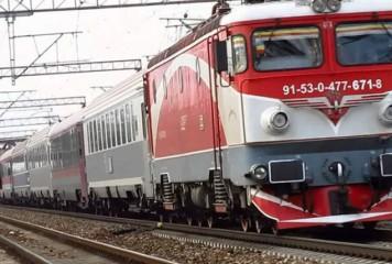 Circulația trenurilor pe Magistrala 400, blocată de un copac