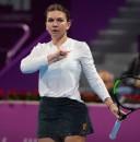 Simona, aplaudata dupa un punct spectaculos in meciul cu Bouchard (VIDEO)