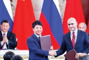 Huawei bate palma cu rusii
