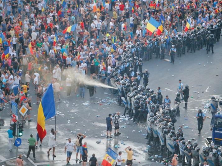Romania sub semnul razmeritei