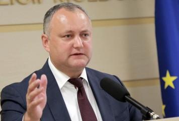 Circul continuă la Chișinău. Președintele suspendat anulează alegerile anticipate și dizolvarea Parlamentului