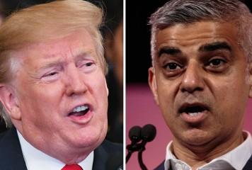 """Președintele american șterge pe jos cu primarul Londrei după noile violențe din """"Londonistanul lui Khan"""""""