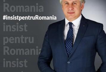 Teodorovici vrea să candideze la prezidențiale. Deviza: #insistpentruRomania