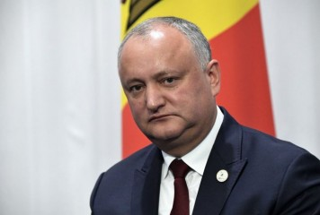 Igor Dodon, suspendat din funcția de președinte al Republicii Moldova