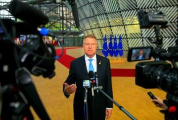 Preşedintele Iohannis participă la reuniunea Consiliului European