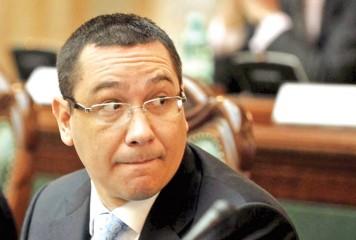 Victor Ponta, flituit la Bruxelles