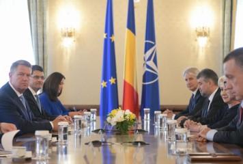 Discutii Dancila- Iohannis. PSD-ul, ultimul in sirul consultarilor