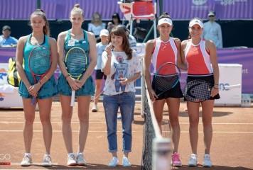 Jaqueline Cristian și Gabriela Ruse au pierdut finala de la București