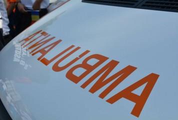 Doi oameni grav răniți, pe DN52, la intrare în Alexandria