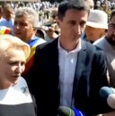 Dăncilă, luată la întrebări despre drumuri, în Brașov. Răspunsurile premierului (VIDEO)