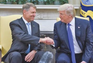 Klaus Iohannis și Donald Trump – face to face, marți, la Casa Albă