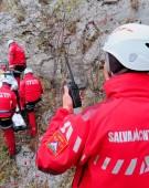Parapantist căzut în zona Bâlea