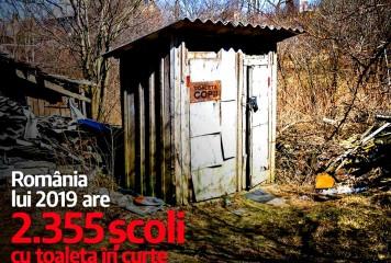 Fifor vrea să rezolve situația scolilor cu WC în curte