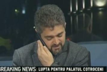Theodor Paleologu și-a sunat contabila în direct (VIDEO)
