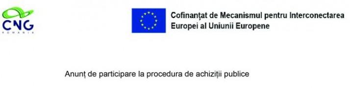 Anunț de participare la procedura de achiziții publice