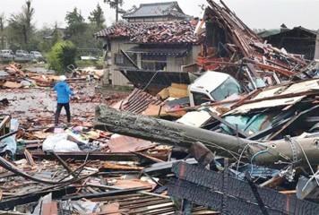 Japonia: zeci de morţi după taifunul Hagibis