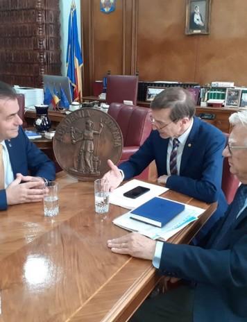 Premierul desemnat Orban, la discuții cu președintele Academiei