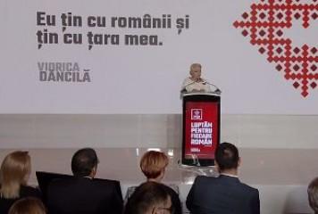 Dăncilă, din nou în fața presei: un președinte cinstit nu are nevoie de imunitate