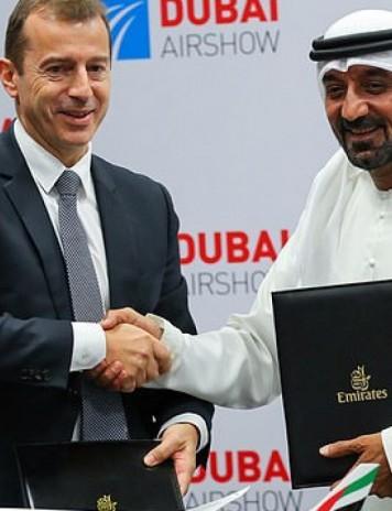 Emirates, tranzacţie de miliarde de euro