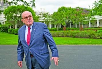 Giuliani, desant în Ucraina