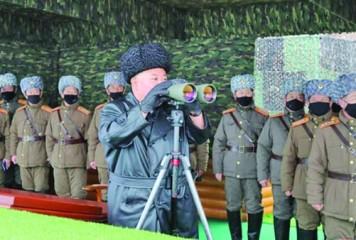 Coreea de Nord testează noi arme și trage cu rachete neidentificabile