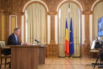 Iohannis face ședință cu Orban și Tătaru și cu oficialii din Suceava