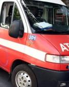 Accident cu un microbuz, pe DN 19: doi oameni duși la spital