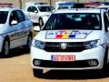 Ca la bâlci: Trei mașini noi de polție s-au tamponat