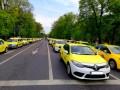 Protestul taximetriștilor a început