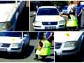 Polițist, SPULBERAT de un șofer beat