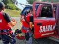 Parapantist rănit. Salvamontiștii intervin în zona vârfului Caraiman