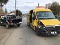 7 elevi duşi la spital, după un accident cu un microbuz şcolar