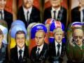 Faţa lui Putin, pe toate drumurile
