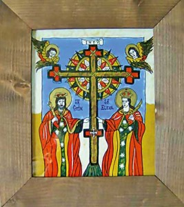 constantin si elena 267x300 Crucea cu raze de la Tartaria, cel mai vechi simbol religios al lumii
