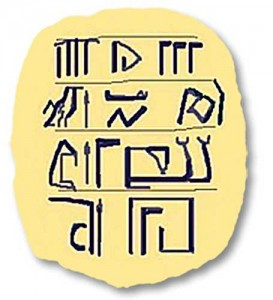 grad simboluri 273x300 Scrierea sacra a aparut in Carpati