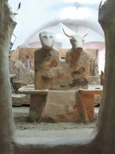 reconstituire altar Parta copy 225x300 Parta, cea mai veche asezare urbana din lume