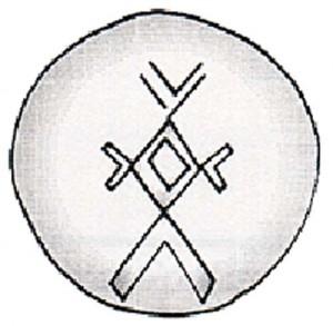 semn sacru Parta copy 300x293 Parta, cea mai veche asezare urbana din lume