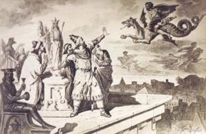 Ajdahak Dream copy 300x196 Epopeea steagului dacic de lupta   Partea a II a