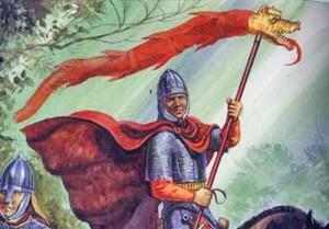 draco imperial roman copy 300x209 Epopeea steagului dacic de lupta   Partea a II a