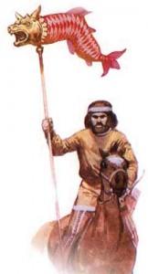 draconar part copy 162x300 Epopeea steagului dacic de lupta    Partea I