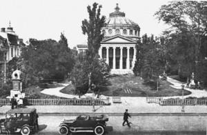 Atheneul  roman 300x196 George Enescu, compozitor, violonist,dirijor de frunte, mare pianist si pedagog este preferatul lui Google.