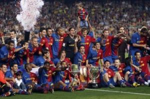 FC Barcelona 300x198 FC Barcelona, castigatoarea Supercupei Spaniei   VIDEO