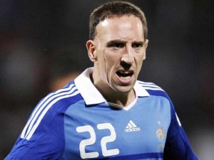 Franck Ribery2 2317442 300x225 Francezii vin pe 3 septembrie si stau la Pullman