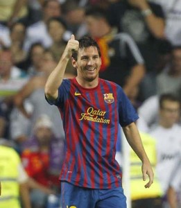 Messi agerpres 5526321 261x300 Uite cum a ajuns MM Stoica mai bun ca Messi