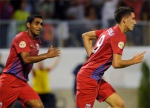 STEAUA 300x216 Steaua are 1 0 la pauza in meciul cu bulgarii de la TSKA Sofia