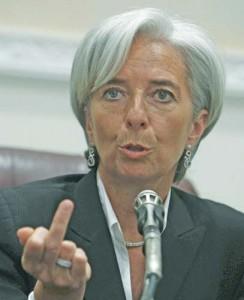 christine lagarde copy 244x300 Alarma FMI: Economia globala, in pericol